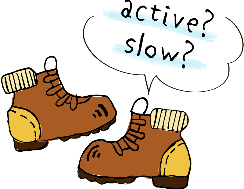 active?slow?