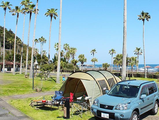 キャンプ施設イメージ